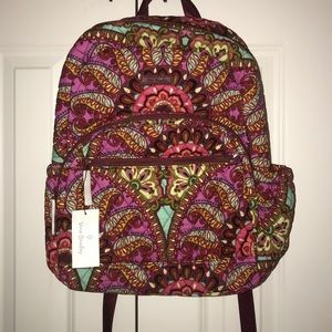 BRAND NEW Vera Bradley Essentials Backpack